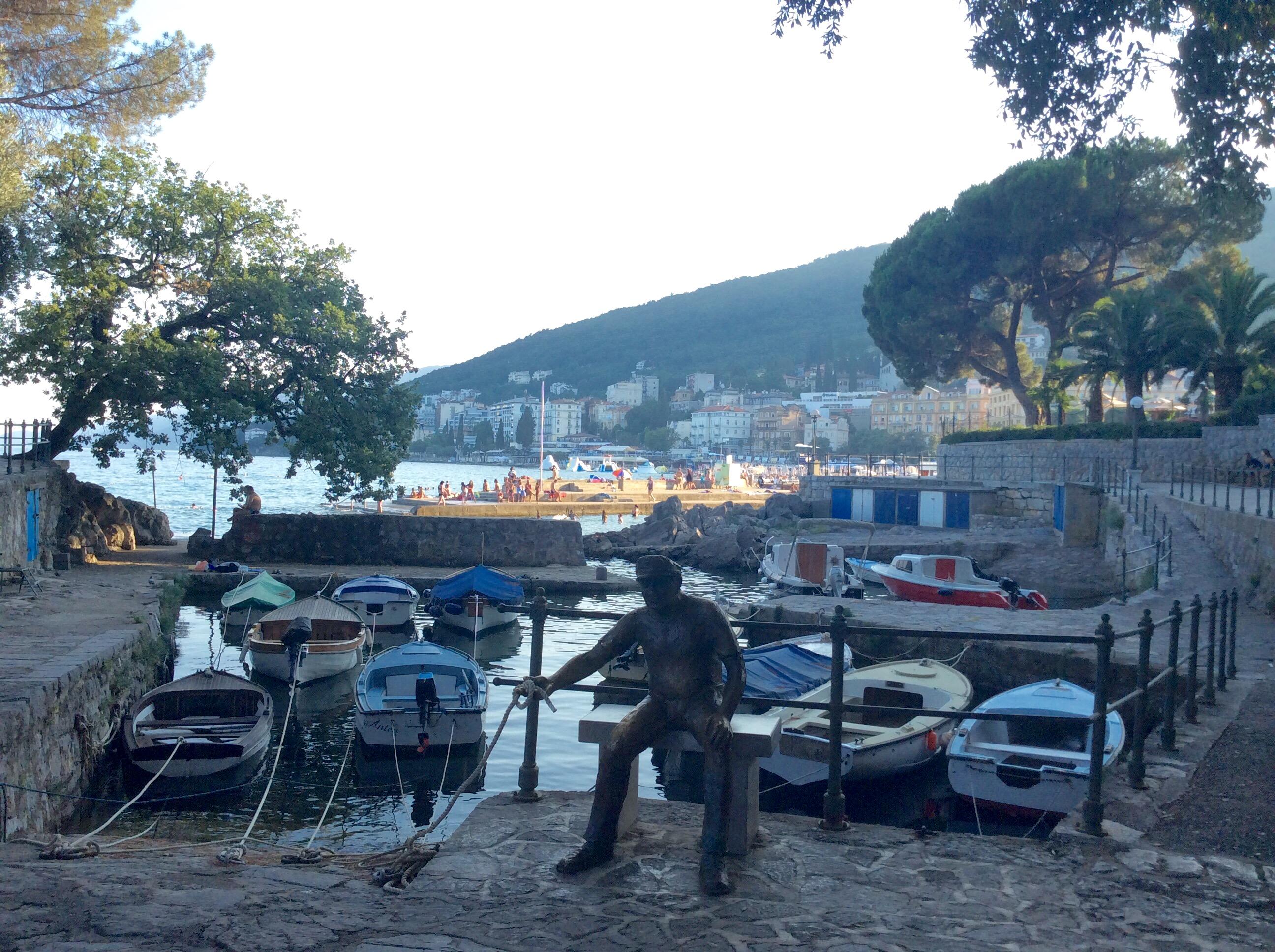 Opatija_fisherman_statue