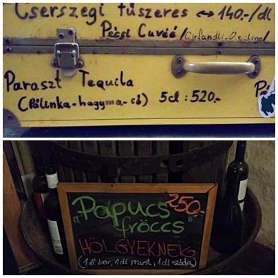 pubtourist_papucs_pécs_special_drinks