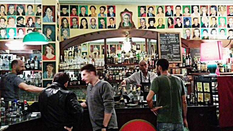 The bar area of Bar Mercato, in Bologna - Pubtourist