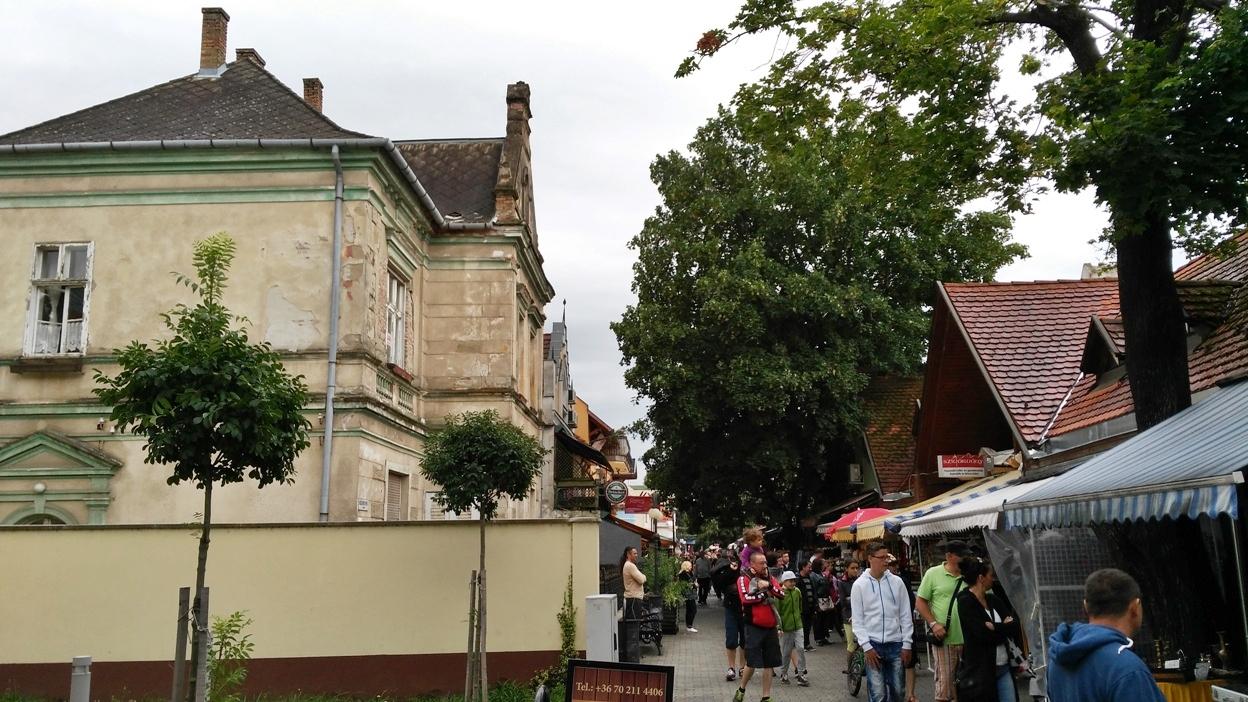 The Kálmán Imre (Emerich Kálmán) promenade in Siófok - Pubtourist