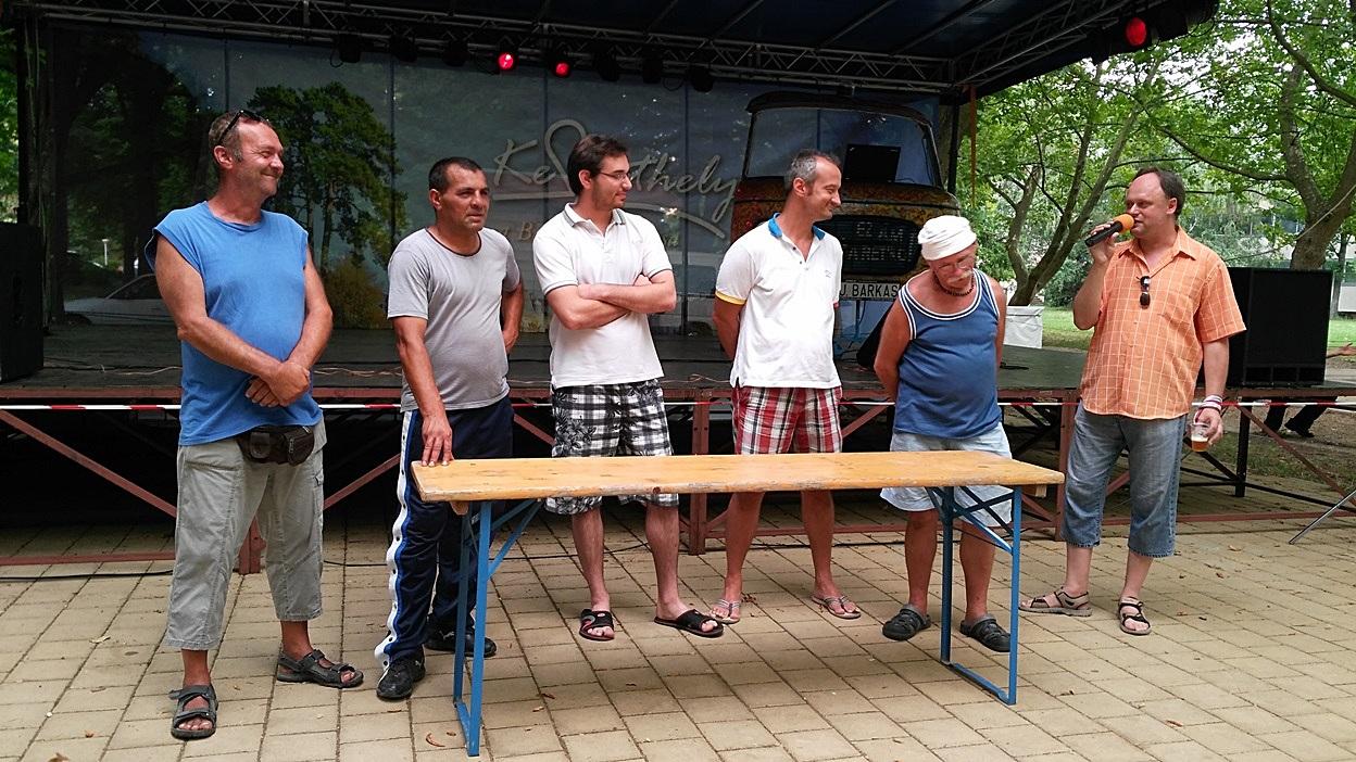 The presentation of Csaba Katona, beer historian