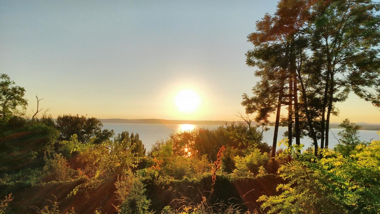 The beautiful view of Balatonvilagos - Pubtourist