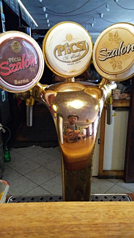 Pécsi beers in Nappali, Pécs - Pubtourist