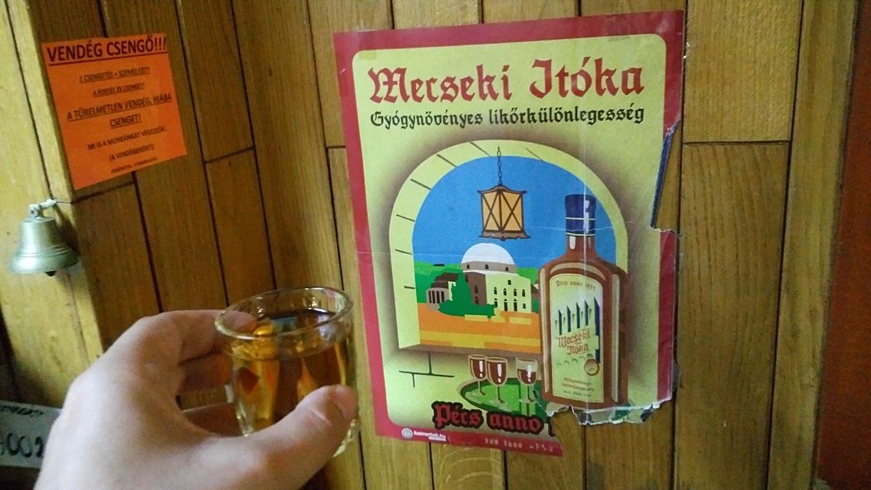 Mecseki Itóka in István Pince, Pécs - Pubtourist