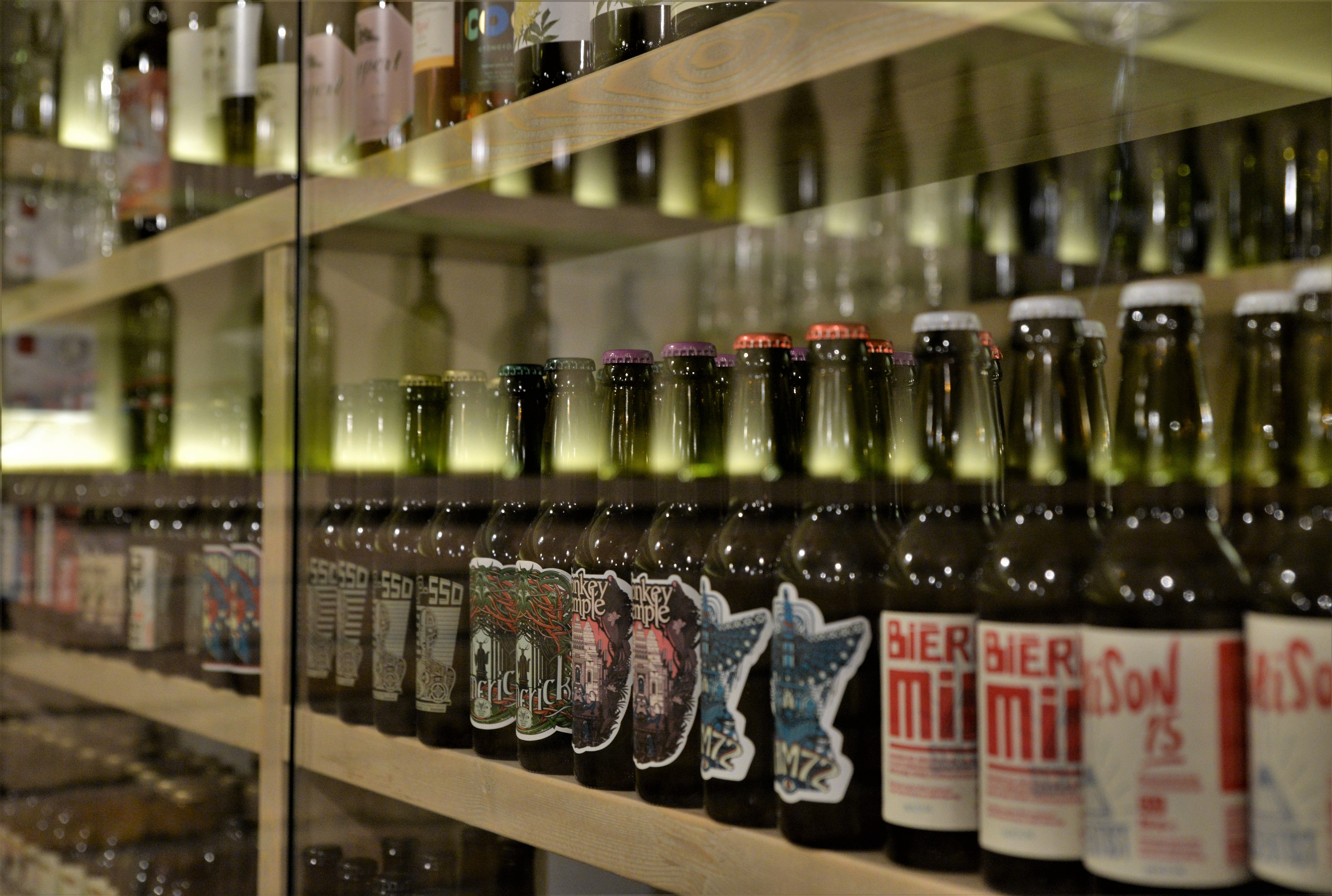 The beer selection of Hunyadi Gasztroműhely and BBQ - Pubtourist