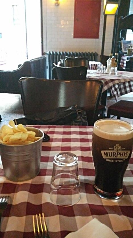 Murphy's beer in La Gazetta di Sera, Bologna - Pubtourist